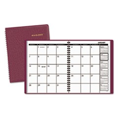 Monthly Planner, 6 7/8 x 8 3/4, Winestone, 2017