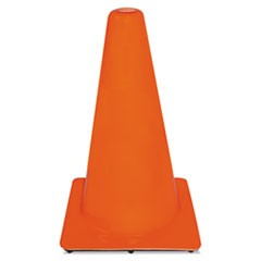 Non-Reflective Safety Cone, 11 x 11 x 18, Orange