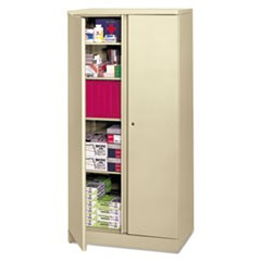 Easy-to-Assemble Storage Cabinet, 36w x 18d x 72h, Putty