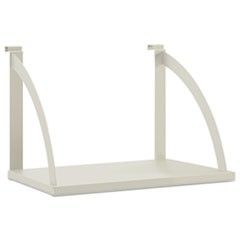 Versé Panel System Hanging Shelf, 24w x 12-3/4d, Gray