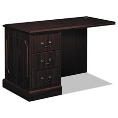 "94000 Series ""L"" Workstation Left Return, 48w x 24d x 29-1/2h, Mahogany"