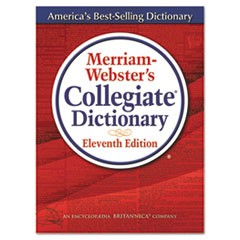 Merriam Webster Merriam-Webster'S Collegiate Dictionary, 11Th Edition, Hardcover, 1,664 Pages