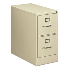 210 Series Two-Drawer Full-Suspension File, Letter, 15w x 28.5d x 29h, Putty