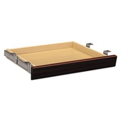 Laminate Angled Center Drawer, 22w x 15 3/8d x 2 1/2h, Mahogany