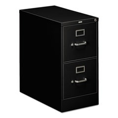 310 Series Two-Drawer Full-Suspension File, Letter, 15w x 26.5d x 29h, Black