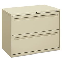 700 Series Two-Drawer Lateral File, 36w x 19-1/4d, Putty