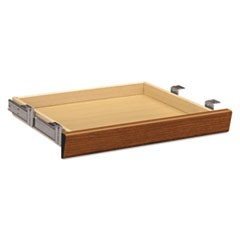 Laminate Angled Center Drawer, 22w x 15 3/8d x 2 1/2h, Bourbon Cherry