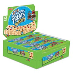 Rice Krispies Treats, Original Marshmallow with M&Ms, 2.1 oz Bar, 12/Box