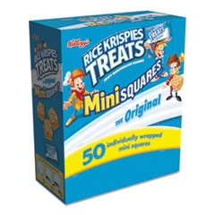 Rice Krispies Treats, Mini Squares, 0.39 oz, 50/Box