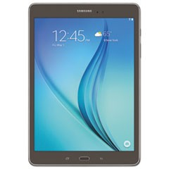 "Galaxy Tab A 9.7"" Tablet, 16 GB, Wi-Fi, Smoky Titanium"