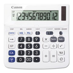 Canon Tx-220Tsii Portable Display Calculator, 12-Digit, Lcd