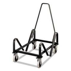 Olson Stacker Series Cart, 21-3/8 x 35-1/2 x 37, Black