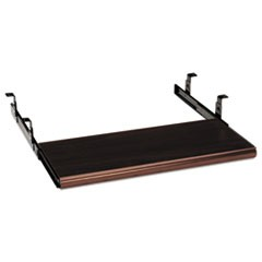 Slide-Away Keyboard Platform, Laminate, 21.5w x 10d, Mahogany