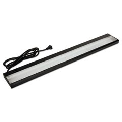"Task Light For Stack-On Storage Unit, 34.63""w x 3.69""d x 1.13""h, Black"