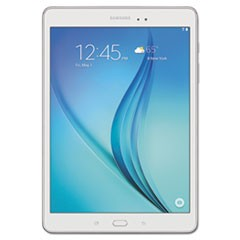 "Galaxy Tab A 9.7"" Tablet, 16 GB, Wi-Fi, White"