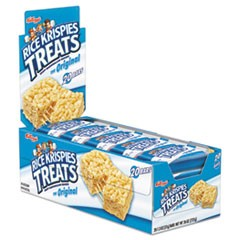 Rice Krispies Treats, Original Marshmallow, 1.3 oz Snack Pack, 20/Box