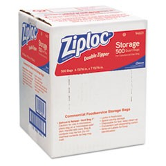 ZIPLOC BAG, QUART 500/CS