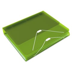 "DUO 2-in-1 Binder Organizer, 11 x 8 1/2, 1"" Capacity, Green"