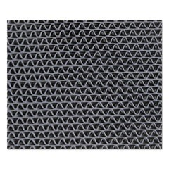 Nomad 6250 Z-Web Medium-Traffic Scraper Matting, 48 x 72, Gray