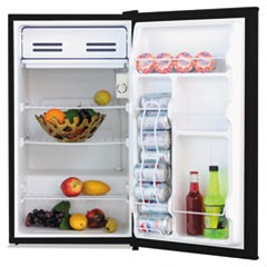3.2 Cu. Ft. Refrigerator with Chiller Compartment, Black