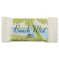Face and Body Soap, Beach Mist Fragrance, #1/2 Bar, 1000 Carton