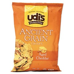 Gluten Free Ancient Grain Crisps, Aged Cheddar, 4.93 oz Bag