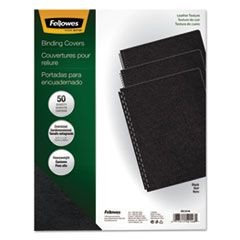 Executive Presentation Binding System Covers, 11-1/4 x 8-3/4, Black, 50/Pack