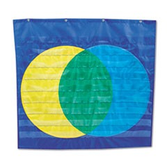 Venn Diagram Pocket Chart, Nine Pockets, 34 1/2 x 32