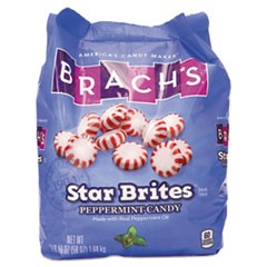 Brach'S Star Brites Peppermint Candy, Individually Wrapped, 58 Oz Bag
