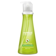 Dish Soap, Lime & Sea Salt, 18 oz Pump Bottle, 6/Carton