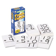 Carson-Dellosa Publishingflash Cards, Addition Facts 0-12, 3W X 6H, 94/Pack