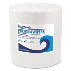 Hydrospun Wipers, White, 10 x 13, 1100/Roll