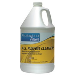 Professional Basics All Purpose Cleaner, Lavender Scent, 1 gal Bottle, 4/Carton