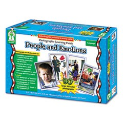 Carson-Dellosa Publishingphotographic Learning Cards Boxed Set, People And Emotions, Grades K-12