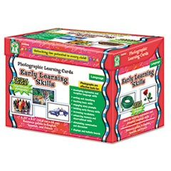 Carson-Dellosa Publishingphotographic Learning Cards Boxed Set, Early Learning Skills, Grades K-12
