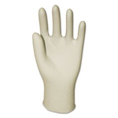 Latex General-Purpose Gloves, Powder-Free, Natural, Small, 4 mil, 100/Box