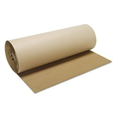 "Singleface B-Flute Corrugated Kraft, 60"" x 250 ft, Brown"