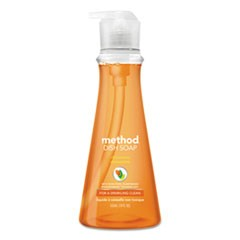 Dish Soap, Clementine, 18 oz Pump Bottle