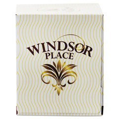 Windsor Place Cube Facial Tissue, 2-Ply, White, 85 Sheets/Box, 30 Boxes/Carton