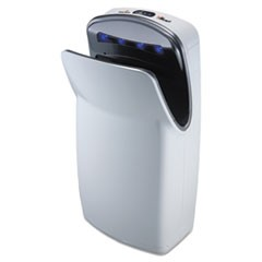 "VMax Hand Dryer, High Impact ABS, 13"" x 26 1/4"" x 9 1/4"",  White"