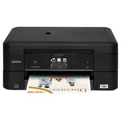 Work Smart MFC-J880DW Compact Wi-Fi Color Inkjet All-in-One, Copy/Fax/Print/Scan