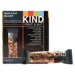 Fruit and Nut Bars, Fruit and Nut Delight, 1.4 oz, 12/Box