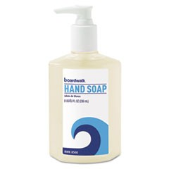 Liquid Hand Soap, Floral, 8 oz Pump Bottle, 12/Carton