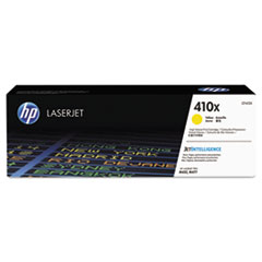 HP 410X, (CF412X) High Yield Yellow Original LaserJet Toner Cartridge