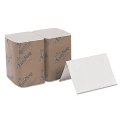 Interfold Napkin Refills, 2 Ply, 6 1/2x9 7/8, White, 500/Pk, 6 Pack/Ctn