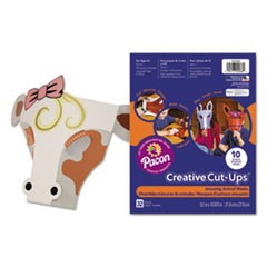 Creative Cut Ups, Amusing Animal Masks, 8 1/2 x 10 1/2, 32 Sheets