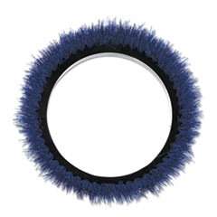 "Orbiter Scrubbing Brush, 12"" dia, Black/Blue"