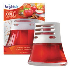 Scented Oil Air Freshener, Macintosh Apple and Cinnamon, Red, 2.5oz