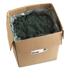 Oil-Based Sweeping Compound, Grit-Free, Green, 100lbs, Box