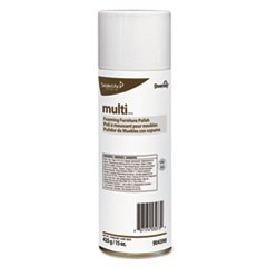 MULTI Foaming Furniture Polish, Lemon Scent, 15 oz Aerosol, 12/Carton
